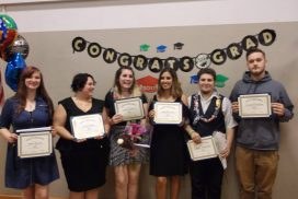 Students graduating from Mason County GRAVITY program